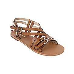 Phase Eight - Tan evelyn leather sandals