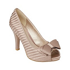 Phase Eight - Champagne Annabel Weave Shoe