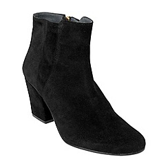 Phase Eight - Black mollie suede ankle boots