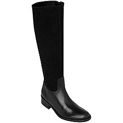 Phase Eight - Black lydia leather boots