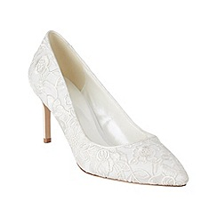 Phase Eight - Grace Embroidered Satin Court Shoes