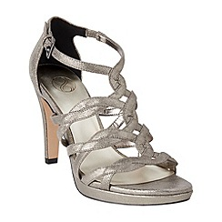Phase Eight - Collection 8 pewter sabina suede sandals