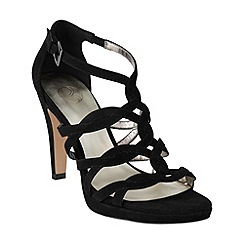 Phase Eight - Black aida suede sandals