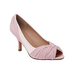 Phase Eight - Confetti Pink lara peep toe shoes