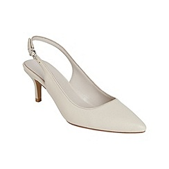 Phase Eight - Victoria leather kitten heel sling back shoes