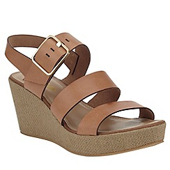 Phase Eight - Bonnie leather wedge sandals