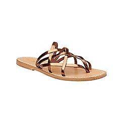 Phase Eight - Metallic maddie leather sandal