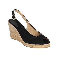 Phase Eight - Fay slingback wedge espadrilles