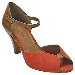 Phase Eight - Tula glitter peep toe shoes