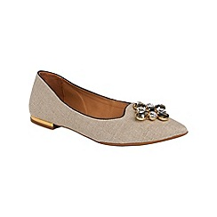 Phase Eight - Dayna Jewel Point Flat Shoes