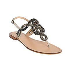 Phase Eight - Kali embellished flat sandals