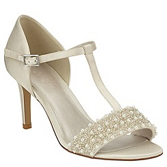 Phase Eight - Anna pearl satin sandals