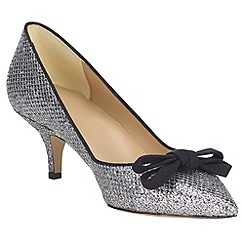 Phase Eight - Liza kitten heel glitter point