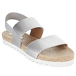 Phase Eight - Metallic jodie poolslide sandals