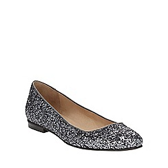 Phase Eight - Lulu glitter flat shoes