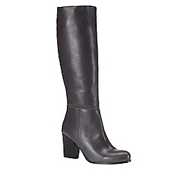 Phase Eight - Charcoal avaline slouchy leather boots