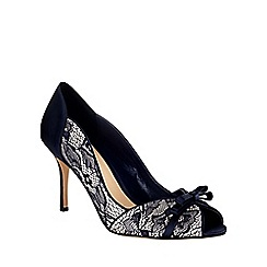 Phase Eight - Mia Lace Peep Toe Shoes