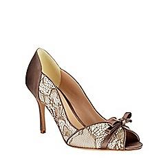 Phase Eight - Mia Lace Peep Toe Shoes