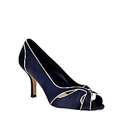 Phase Eight - Lillie Satin Peep Toe Shoes