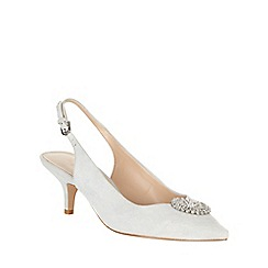Phase Eight - Issy Suede Kitten Heel Shoes