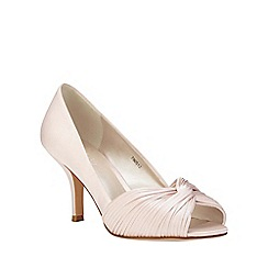 Phase Eight - Milly Satin Twist Peep Toe Shoes