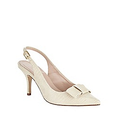 Phase Eight - Sammy Leather Bow Sling Back Shoes
