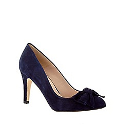 Phase Eight - Amber Suede Bow Court Shoes