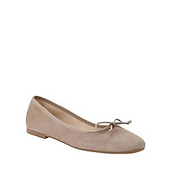 Phase Eight - Suede Ballerina Shoes