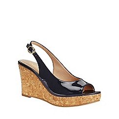 Phase Eight - Daisy Leather Wedges