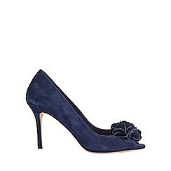 Phase Eight - Petal Suede Peep Toe