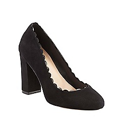 Phase Eight - Stevie Scalloped Suede Court