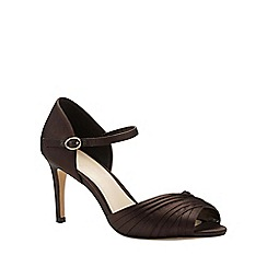 Phase Eight - Nina Pleated Satin Sandal