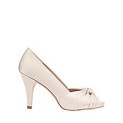 Phase Eight - Gina Satin Peep Toe Shoes
