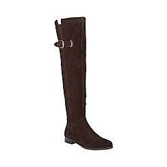 Phase Eight - Anna Suede Knee High Boot