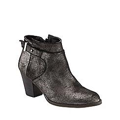 Phase Eight - Mimi Metallic Leather Ankle Boot