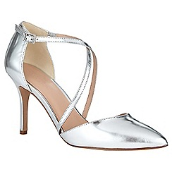 Phase Eight - Izzy Metallic Leather Pointed Court