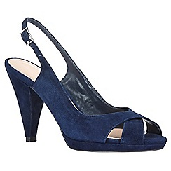 Phase Eight - Ruby suede peep toe shoes