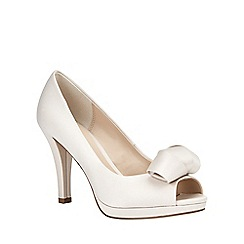 Phase Eight - Abi Satin Peep Toe SHoe