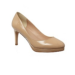 Phase Eight - Natural pia patent court shoes