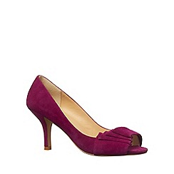 Phase Eight - Garnet caitlin suede pointed courts