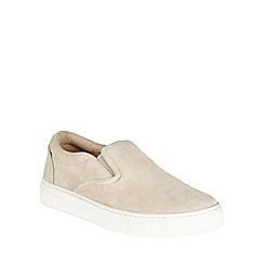 Phase Eight - Suede Slip On Trainer