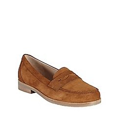 Phase Eight - Tan suede loafer