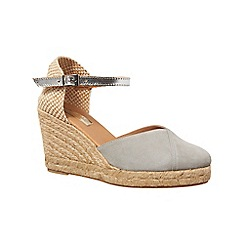 Phase Eight - Suede wedge espadrilles
