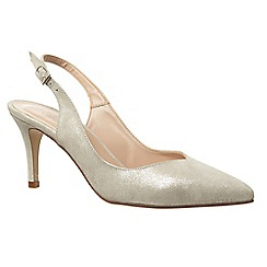 Phase Eight - Samara suede sling back shoes