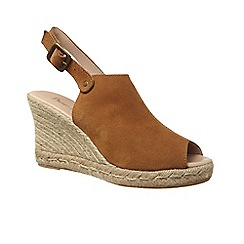Phase Eight - Tally suede wedge espadrille
