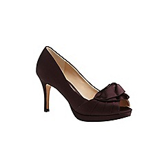 Phase Eight - Fig fifi satin peep toe heels shoes
