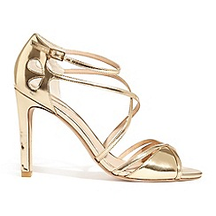 Phase Eight - Metallic pippa leather sandals