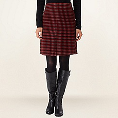 Phase Eight - Red Adelaide Skirt