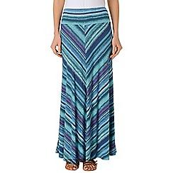 Phase Eight - Multi-coloured shantel maxi skirt