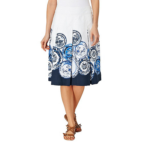 Phase Eight - Assiette Print Skirt